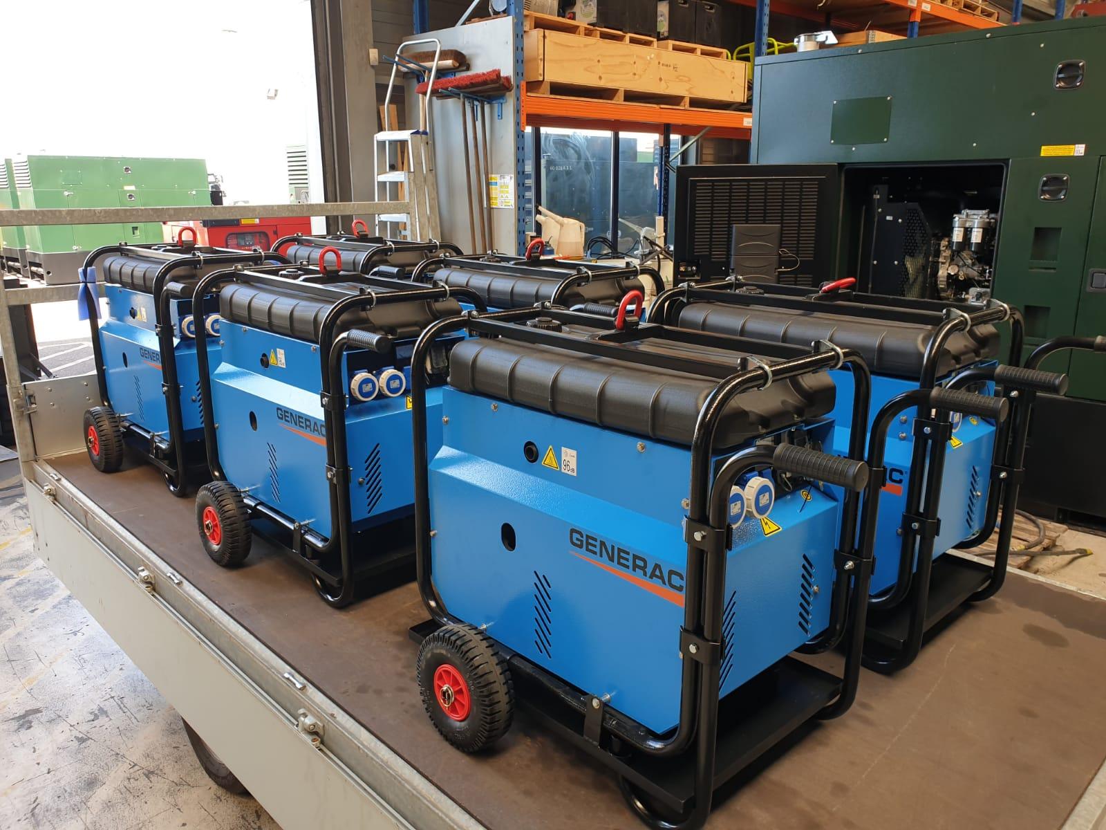 Op maat aanpassen van aggregaten en generatoren